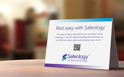 Safeology Marketing Materials Rest Easy - Rep Portal and Media Resource Image