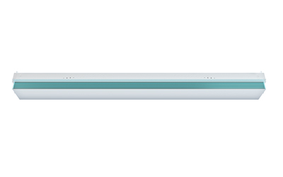 Safeology Upper Room UVC Linear Recessed Fixture Front View - Rep Portal and Media Resource Image