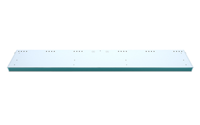 Safeology Upper Room UVC Linear Wall Fixture Front View - Rep Portal and Media Resource Image
